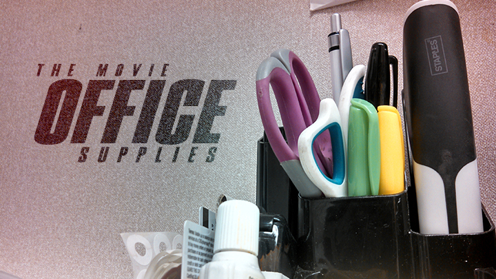 Camera/Photoshop | Office Supplies The Movie